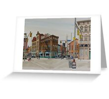Carson Street & S.12th Street, South Side, Pittsburgh Greeting Card