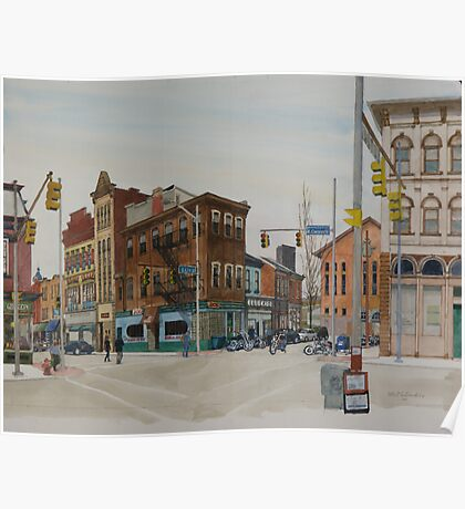 Carson Street & S.12th Street, South Side, Pittsburgh Poster