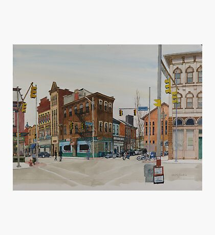 Carson Street & S.12th Street, South Side, Pittsburgh Photographic Print