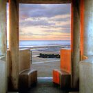 Granite Benches - Cleveleys Prom by Victoria limerick