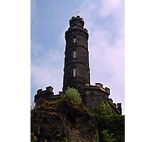 Nelson's Monument, Edinburgh Photographic Print