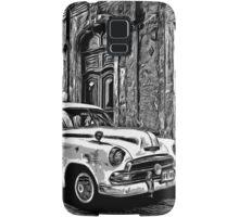 Vintage Car Graphic Novel Style Samsung Galaxy Case/Skin