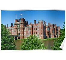 Herstmonceux Castle Poster
