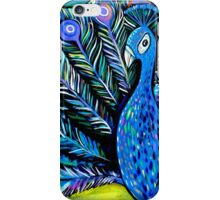 Peacock 1 iPhone Case/Skin
