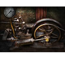 Steampunk - The Contraption Photographic Print