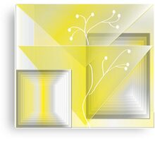 Yellowscape Canvas Print