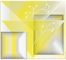 Yellowscape Photographic Print