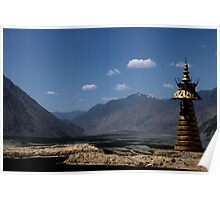 Nubra Valley Views Poster