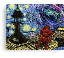 Van Gogh- The Black Hole  Canvas Print
