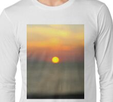My first Ever Redbubble Post - Blurred Vision Long Sleeve T-Shirt