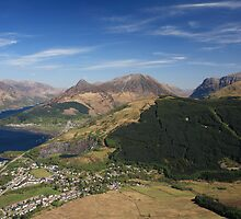 Ballachulish,Loch Leven and the Pap Of Glencoe. by John Cameron