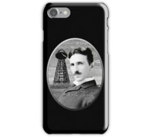 Nikola Tesla - Legends of Science Series iPhone Case/Skin
