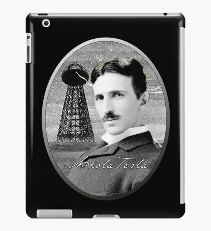 Nikola Tesla - Legends of Science Series iPad Case/Skin