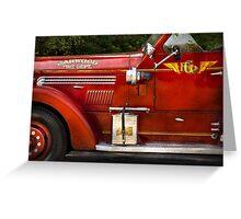 Fireman - Garwood Fire Dept Greeting Card