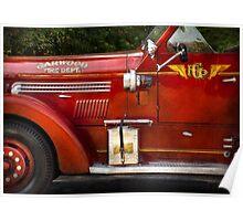 Fireman - Garwood Fire Dept Poster