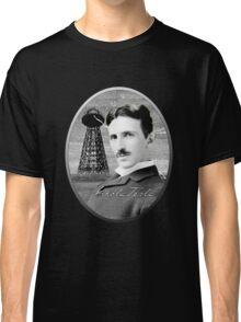 Nikola Tesla - Legends of Science Series Classic T-Shirt