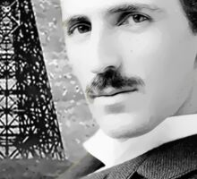 Nikola Tesla - Legends of Science Series Sticker