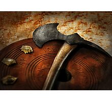 Fireman - The fire axe  Photographic Print