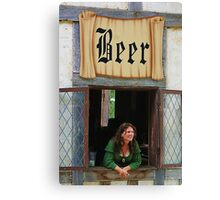 Beer Wench Canvas Print