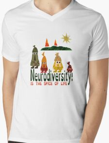 Neurodiversity is the spice of life  Mens V-Neck T-Shirt