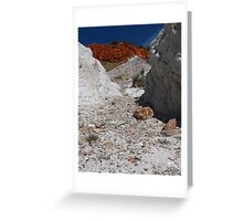 Looking at the Red Mountain Greeting Card