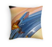 Chief Pontiac Throw Pillow