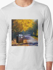 Tardis Autumn Long Sleeve T-Shirt