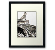 Effiel Tower Framed Print