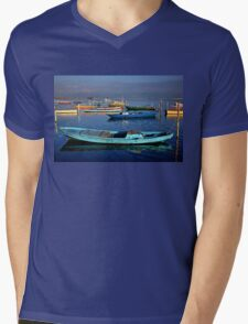 Gaitas in the lagoon of Messolonghi Mens V-Neck T-Shirt