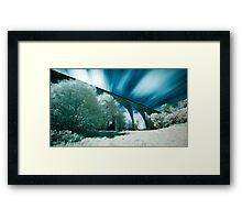 Saltburn Viaduct (IR) Framed Print