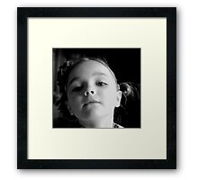 Sugar Spice and Steel Toed Boots Framed Print