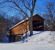 Meems Bottom Covered Bridge by James Brotherton