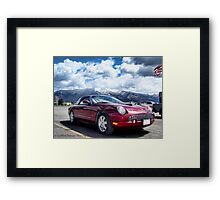 T-Bird Framed Print