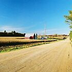 Central Wisconsin Farm Road by BigJ1974