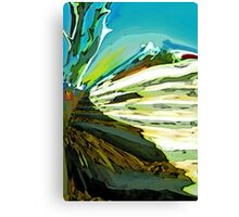 Steps to the Alps Canvas Print
