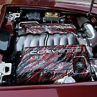 Old Vette Motor by Laurie Perry