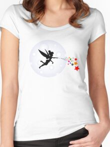 Elf Starry Night Women's Fitted Scoop T-Shirt
