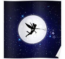Elf Starry Night Poster