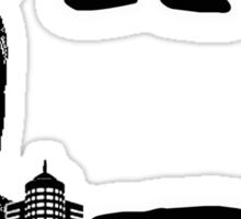 Owl City design Sticker