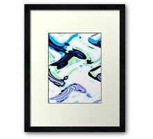 Tadpoles and Sharks Framed Print