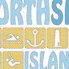 NORTH SEA ISLAND by fuxart