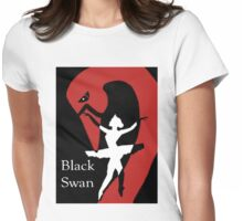 Black Swan Womens Fitted T-Shirt