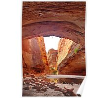 Cathedral Gorge, Bungle Bungle Poster