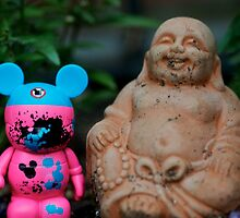 Buddha and the Mouse by DavidBerry