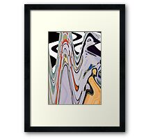 The Guru Descends from the Mountain Framed Print