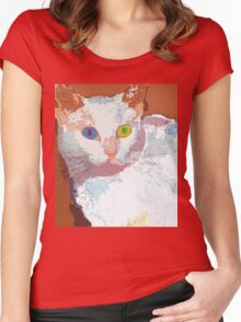 Those eyes Women's Fitted Scoop T-Shirt