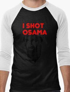 I shot Osama Men's Baseball ¾ T-Shirt