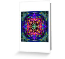 Mandala Digital Nu Dop invert Greeting Card