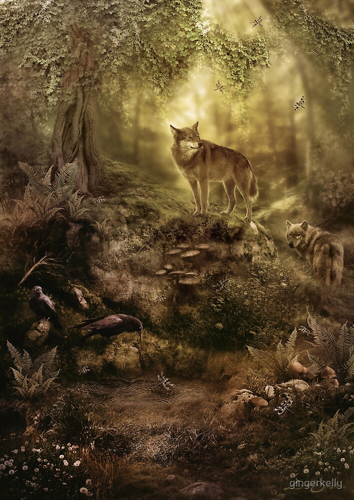 The Kin, Wolves in the Forest by gingerkelly