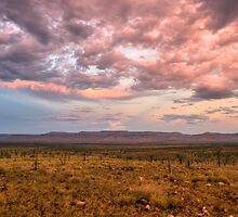 Kimberly sunset by Les Pink